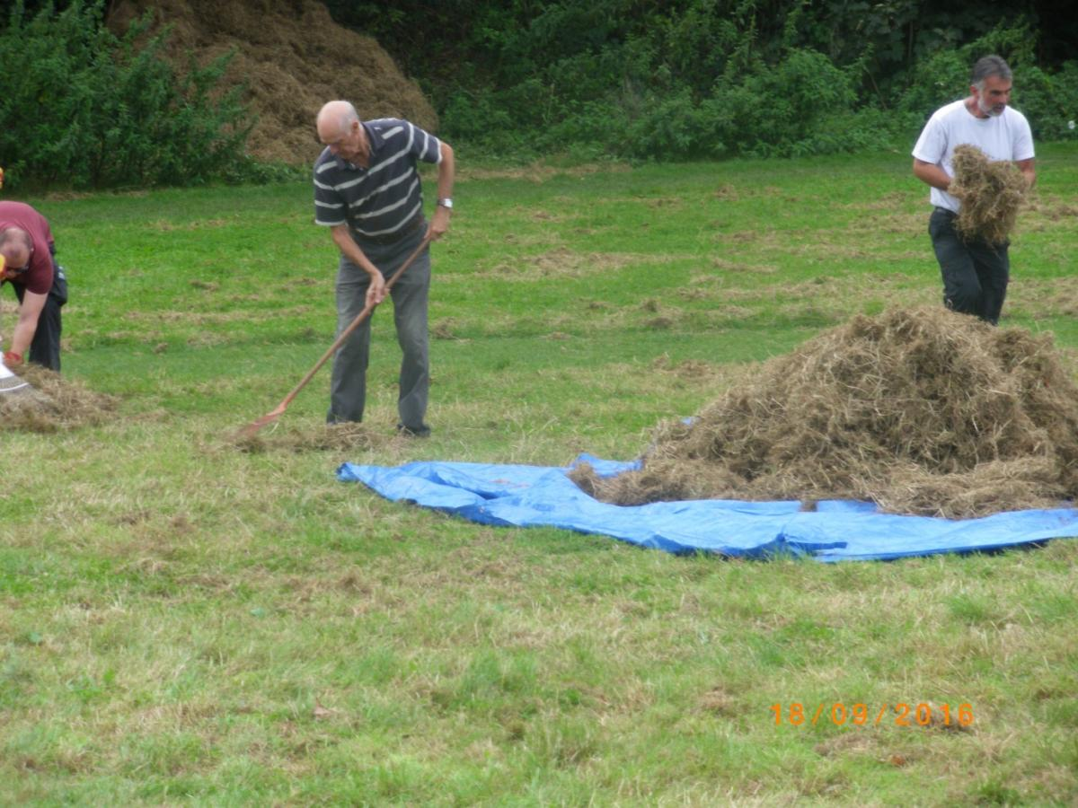 """The """"Rake –Off"""" at Stoodley Knowle"""
